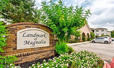 Community Signage, Landmark Of Magnolia, 2