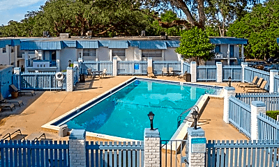 Pool, Rolling Hills Apartments, 0