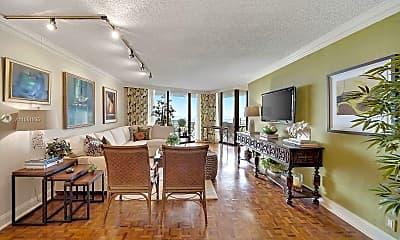 Living Room, 2000 Towerside Terrace 1905, 1