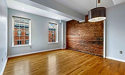 Living Room, 187 Wayne St 413C, 1