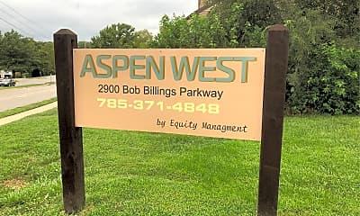 Aspen West Apartments, 1