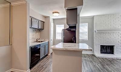 Kitchen, The Edison Apartments, 1