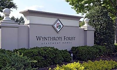 Community Signage, Wynthrope Forest, 0