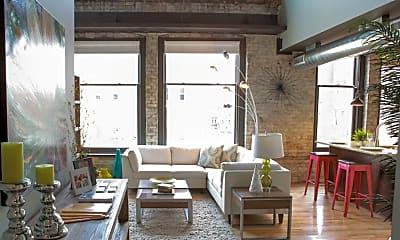 Living Room, Lofts on Ionia, 1