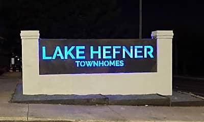 Community Signage, Lake Hefner Townhomes, 0