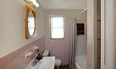 Bathroom, Yorktowne Townhomes, 2