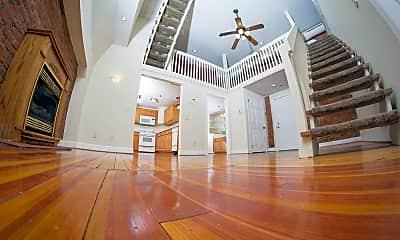 Living Room, Chapel Hill Apartments, 1