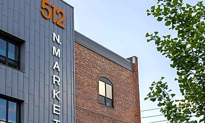 Community Signage, Lofts at 512 Market, 2