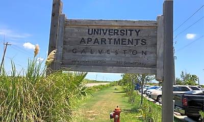 University Apartments Galveston, 1