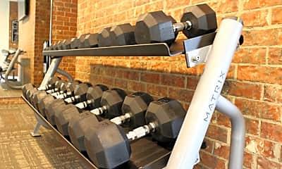Fitness Weight Room, Chesapeake, 2