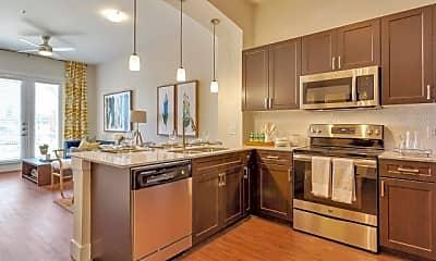 Kitchen, Riverside Park Apartments, 0