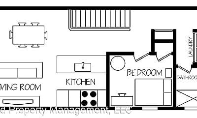 Bedroom, 2459 S Washtenaw Ave., 2