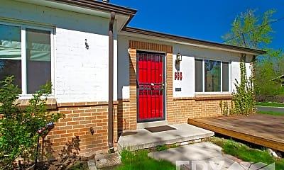 Building, 663 Olive St, 1