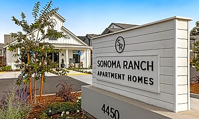 Community Signage, Sonoma Ranch Apartment Homes, 1