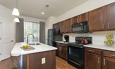 Kitchen, Green Lake Apartments, 1