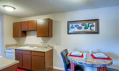 Kitchen, Buffalo Springs Apartments, 0