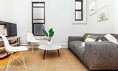Living Room, 1398 Putnam Ave, 1