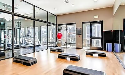 Fitness Weight Room, Wells Junction Apartments, 1