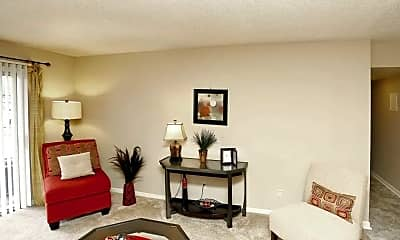 Living Room, Highland Pointe, 1