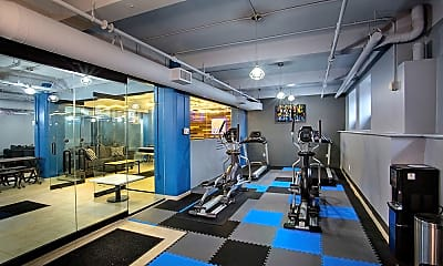 Fitness Weight Room, The Lofts at 5 Lyon, 1