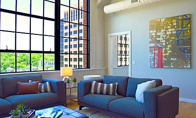 Living Room, The Baldwin Apartments, 1