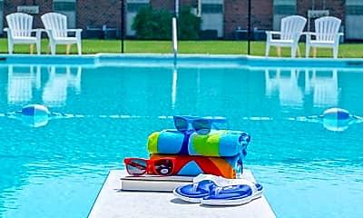 Pool, Westhampton Apartments, 1