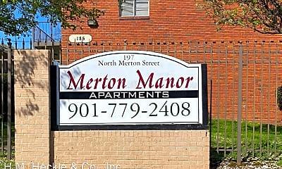 Community Signage, 171 N Merton St, 0