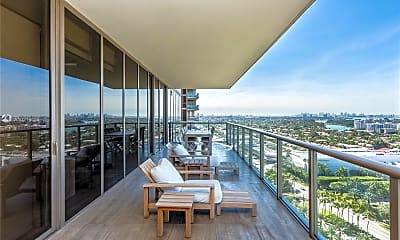 Patio / Deck, 9705 Collins Ave 1705N, 1