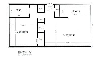 Building, 7528 Penn Ave, 1