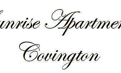 Community Signage, Sunrise Apartments-Covington, 2