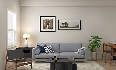 Living Room, 360 Needmore Rd, 1