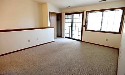 Living Room, Lakeview Village Apartments, 2