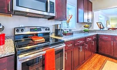 Kitchen, Noma Flats, 1