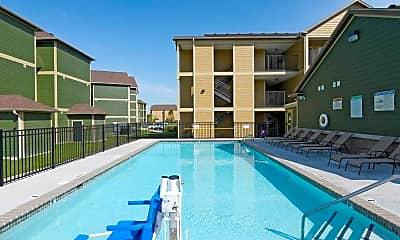 Pool, Parkland Point Apartments, 0