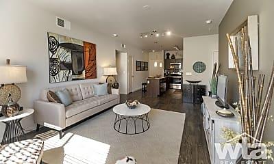 Living Room, 11011 Domain Dr #8100, 0