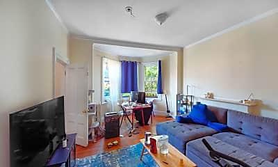 Living Room, 205 Beacon Street, Unit 9, 0