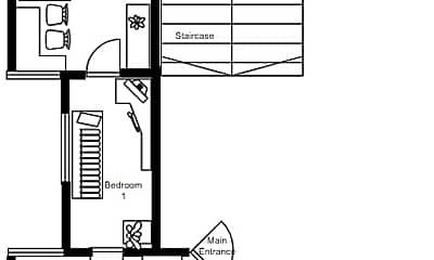 Bedroom, 3590 John F. Kennedy Blvd, 2