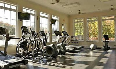 Fitness Weight Room, The Ledges Apartments, 2