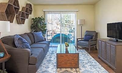 Living Room, Westport Edge Apartments, 0