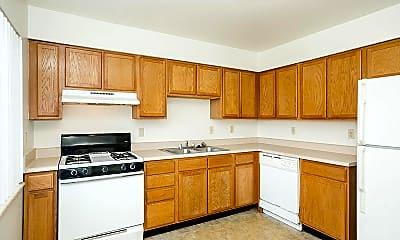 Kitchen, Highland Park Townhomes, 0