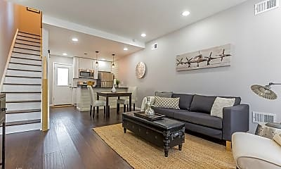 Living Room, 1817 N Marston St, 0
