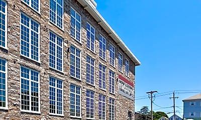 Building, Cornell Mill Lofts, 1