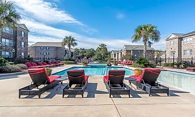 Pool, The Grove Apartments - Student Living, 1