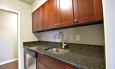 Kitchen, Shaker Square Apartments, 1