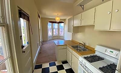 Kitchen, Ivy St. Apartments, 0