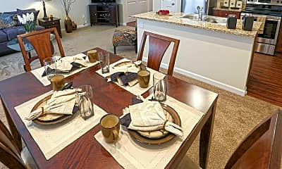 Dining Room, Townhomes At Pleasant Meadows, 1