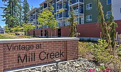 Community Signage, Vintage at Mill Creek Seniors, 0