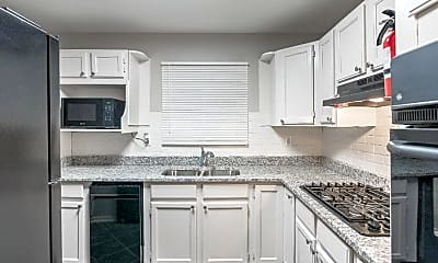 Kitchen, Room for Rent -  a 10 minute walk to bus 60, 1