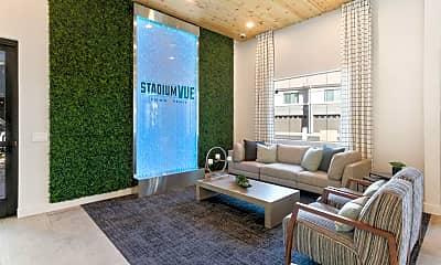 Living Room, Stadium Vue Townhomes, 0