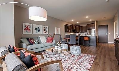 Living Room, 610 West, 1